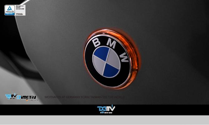 45mm Diameter LED handlebar/rear emblem accents